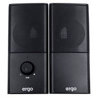 Мультимедийная акустика ERGO S-08 USB 2.0 Black