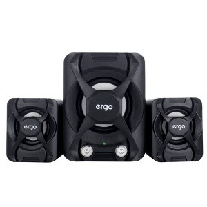 Мультимедийная акустика ERGO ST-2 USB 2.1 Black