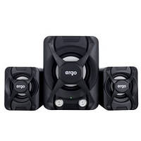 Мультимедийная акустика ERGO ST-2 USB 2.1 Black, фото 1