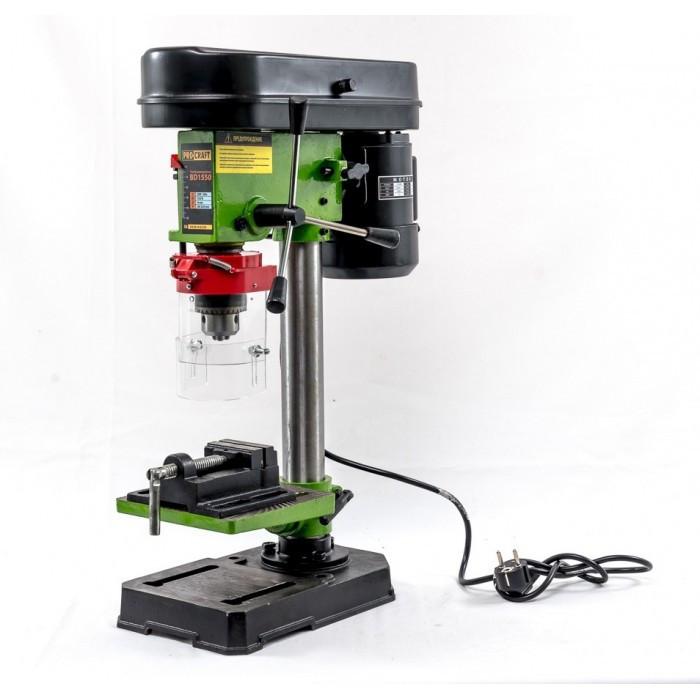 Сверлильный станок ProCraft BD-1550 16мм Патрон + Тески в комплекте