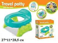 Детский горшок дорожный― сиденье 2 в 1 Travel Potty