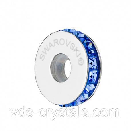 Стоперы для браслетов в стиле Пандора от Swarovski Sapphire 81001