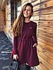 Платье, трехнить на флисе с люрексом. Размер:42-44. Цвета разные. (6108), фото 2