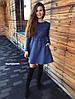 Платье, трехнить на флисе с люрексом. Размер:42-44. Цвета разные. (6108), фото 5