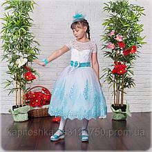 Детское бальное платье ручной работы