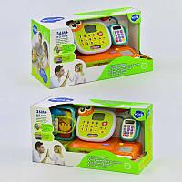 Кассовый аппарат 3118 английская озвучка, музыка, звук, подсветка, микрофон и калькулятор, в коробке