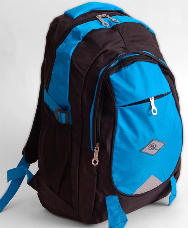 Рюкзак Traum 7042-02 голубой на черном
