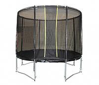 Батут KIDIGO™ VIP BLACK 304 см с защитной сеткой