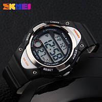 Skmei 1077 черные детские спортивные часы, фото 1