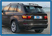 BMW X5 E70 Кромка багажника нерж