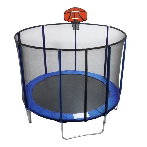 Батут EnergyFIT GB10103-8FT (D244) с баскетбольной щитом