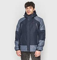 Длинная демисезонная куртка для мужчины