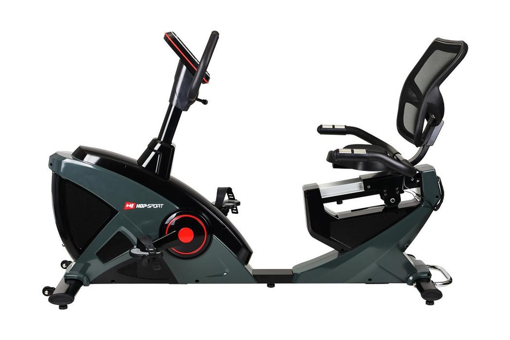 Горизонтальный велотренажер Hop-Sport HS-070L HELIX