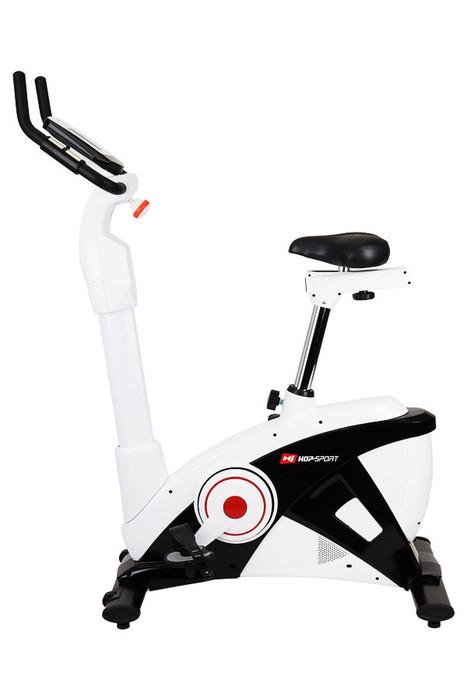 Электромагнитный велотренажер Hop-Sport HS-090H APOLLO EMS бело-черный