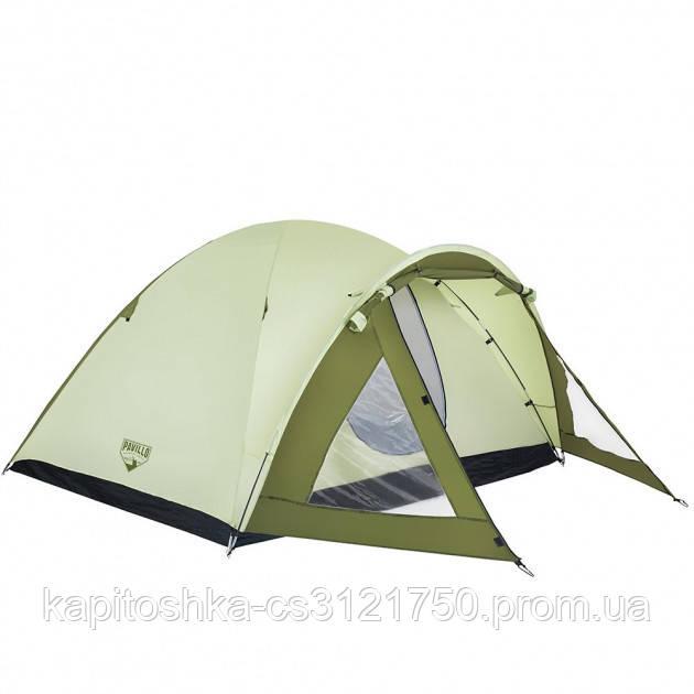Четырехместная палатка.  Bestway Rock Mount 68014
