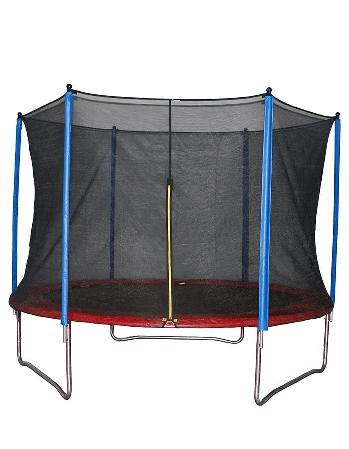 Батут d=2,5м HouseFit с сеткой и лестницей