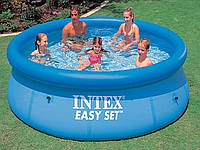 Надувной бассейн. Диаметр 244 см.Высота 76 см.  28110 Intex, фото 1