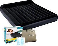 Надувная двухместная кровать inflatable bed Intex