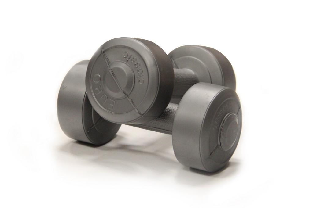 Гантели USA Style виниловые 2х1 кг SS-EK-2021-1