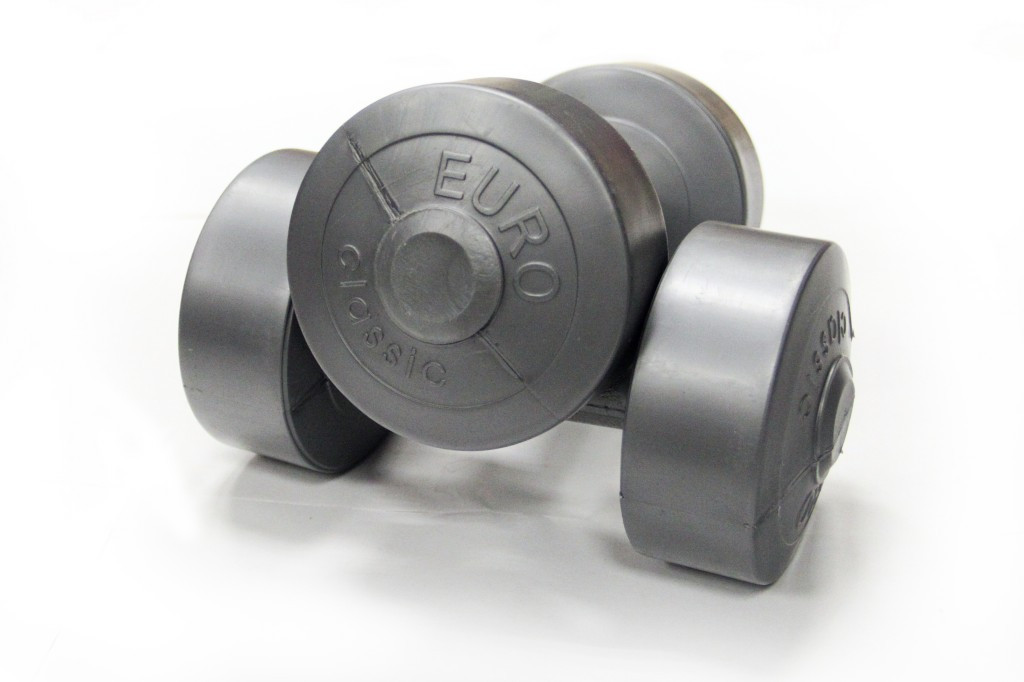 Гантели USA Style виниловые 2х1,5 кг SS-EK-2021-1,5