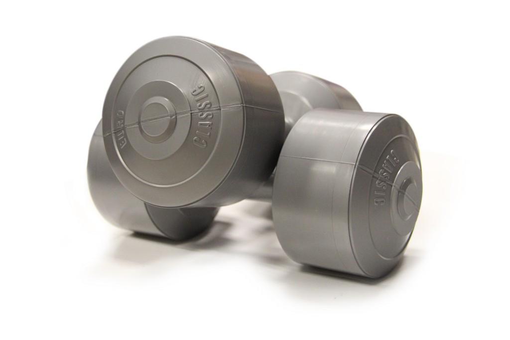 Гантели USA Style виниловые 2х5 кг SS-EK-2021-5