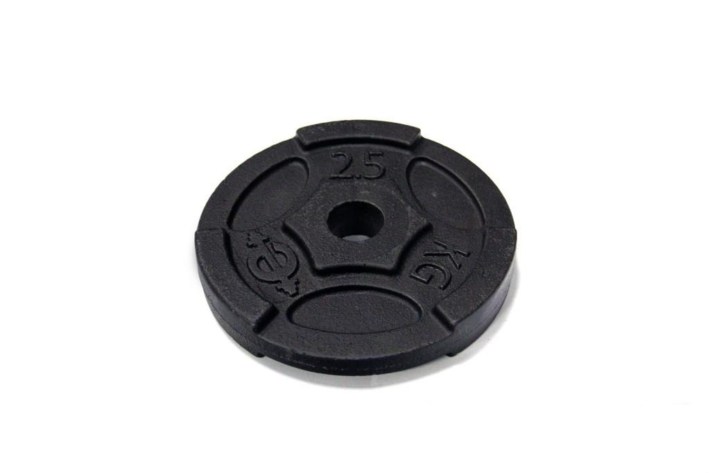 Диск чугунный d 25 мм 2,5 кг USA Style SS-EK-D25-2047-2,5