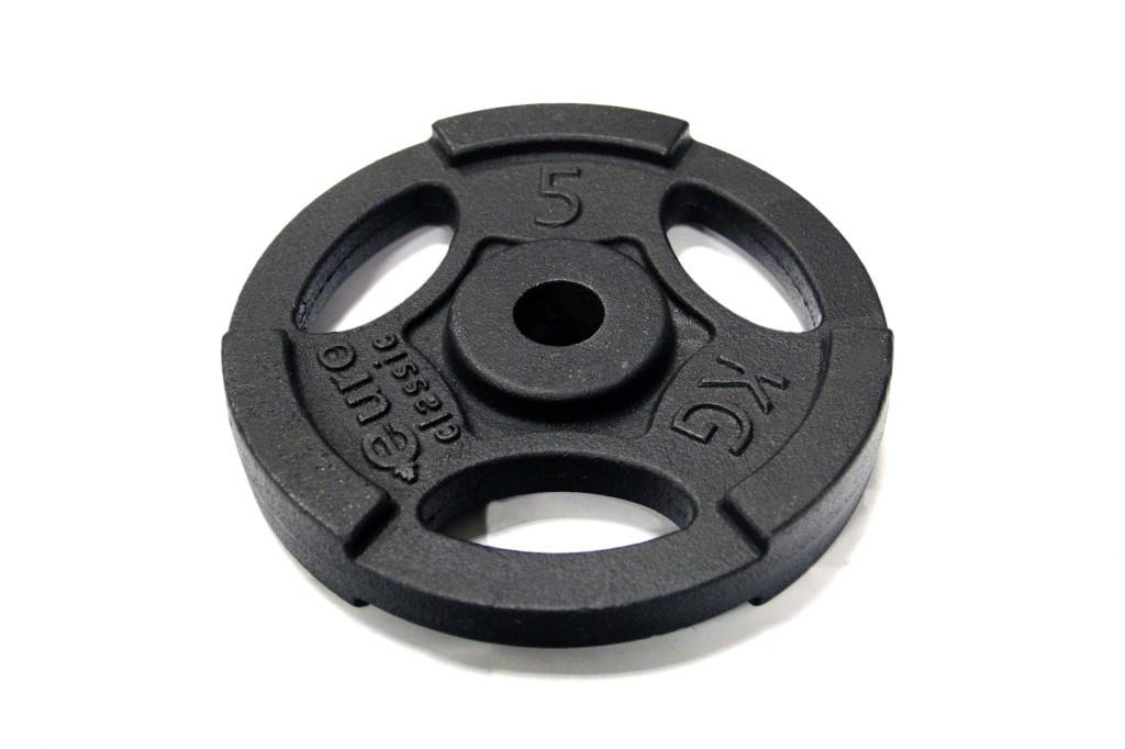 Диск чугунный d 25 мм 5 кг USA Style SS-EK-D25-2047-5