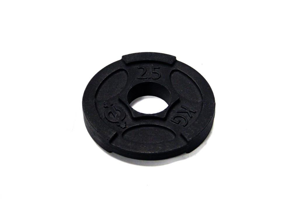 Диск чугунный d 50 мм 2,5 кг USA Style SS-EK-D50-2048-2,5