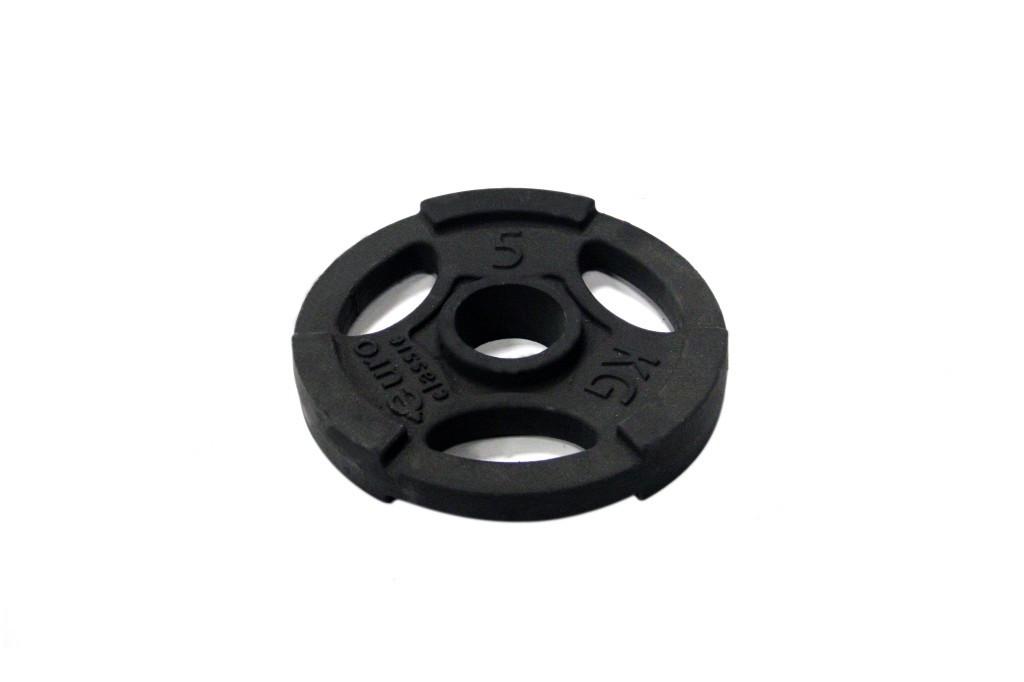 Диск чугунный d 50 мм 5 кг USA Style SS-EK-D50-2048-5