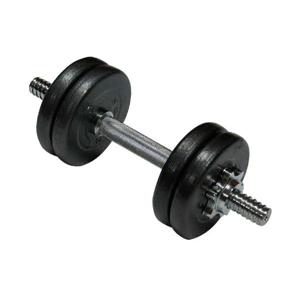 Гантель NEWT наборная стальная 1шт 10 кг
