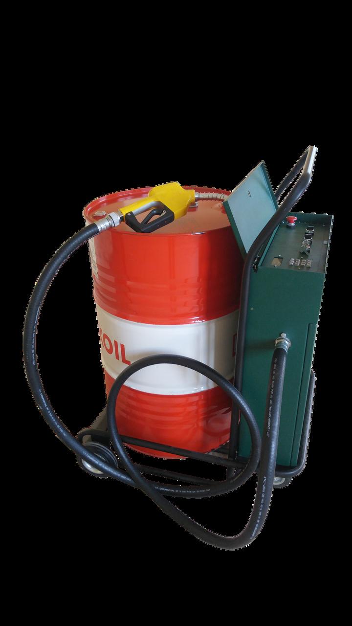 Передвижная топливо-заправочная станция BarrelBox-Fluid