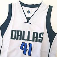 """Баскетбольная форма """"DALLAS"""" детская, фото 1"""