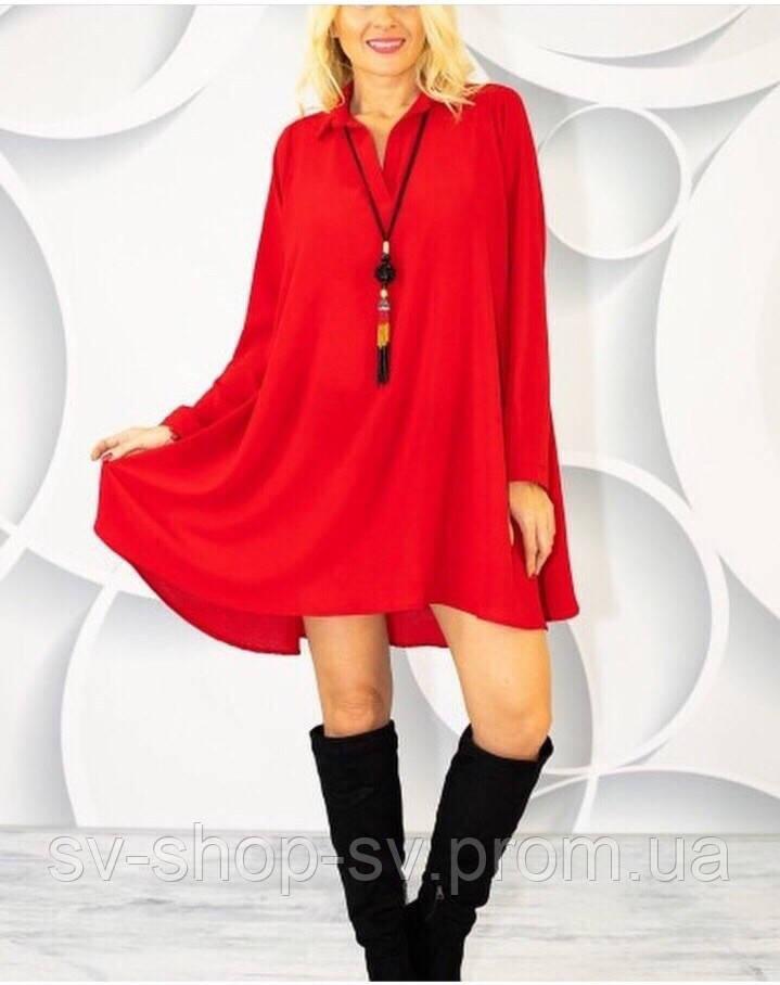 95e27176e38 Платье свободного покроя стильное в расцветках 3736 - ОПТОВО-РОЗНИЧНЫЙ  МАГАЗИН ЖЕНСКОЙ И МУЖСКОЙ ОДЕЖДЫ