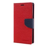 Книжка Goospery Fancy Diary Samsung J3 2017 (J330) Красная