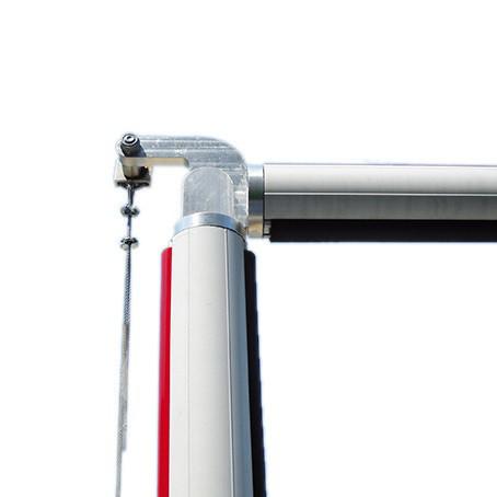 Шарнирный узел для круглой стрелы S шлагбаума Faac (макс. 4 м) для шлагбаума B614