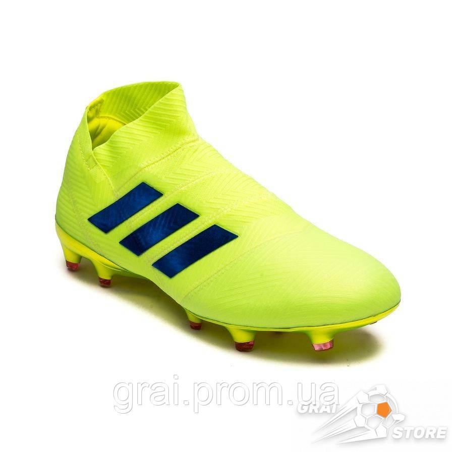 bbc8e424 Бутсы adidas Nemeziz 18+ FG/AG Yellow/Blue: продажа, цена в Киеве ...