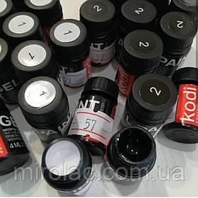 Гель-краска kodi 4ml чёрная