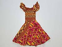 Платье детское с узорами, One Size, как НОВОЕ!