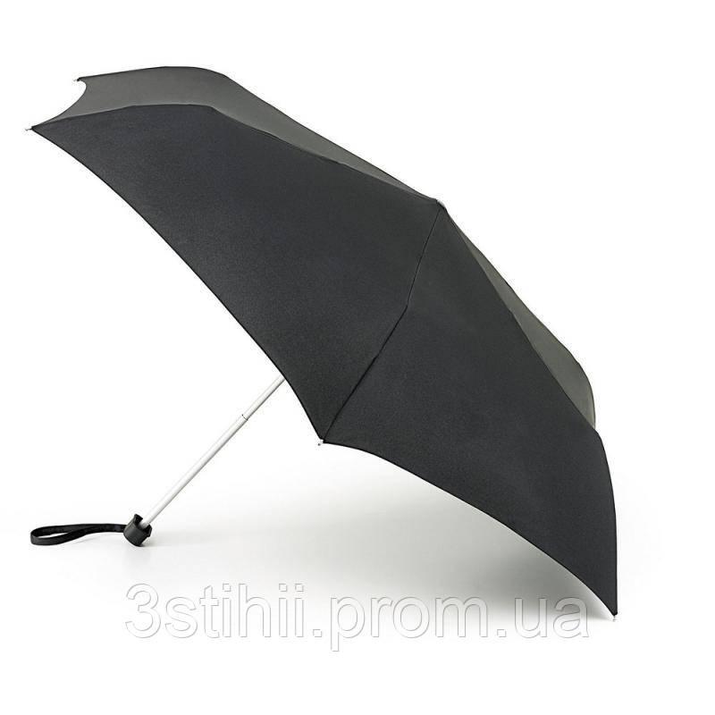 Зонт мужской Fulton Miniflat-1 L339 - Black (Черный)