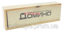 Домино в деревянной коробке 3*5*14,8см