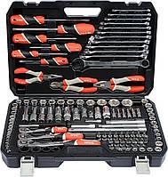 Набор инструментов 129 единиц YATO YT-38881, фото 1