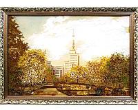 Госпром Харьков большая красивая картина из янтаря
