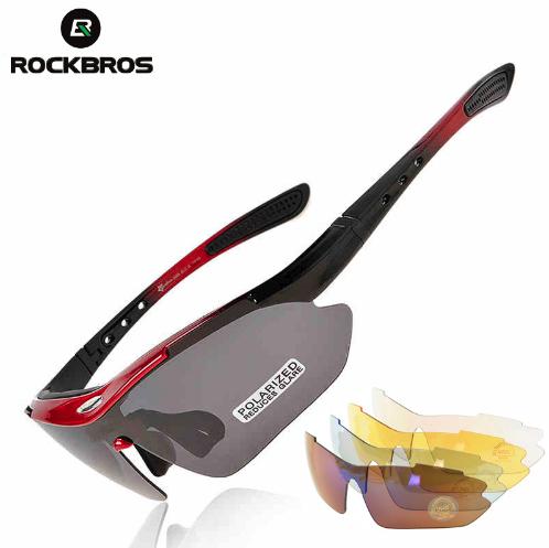 Окуляри для велоспорту Rockbros Polarized 5 змінних лінз