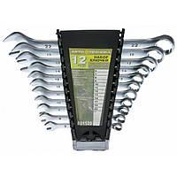 Набор ключей рожково-накидных 12 шт (6-22 мм) в пласт. кейсе 101120