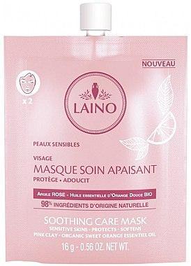 Лено Маска Успокаивающая органическая Laino Masque Soin Apaisant