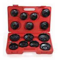 Набор съемников масляных фильтров 14 ед.(крышка) JW0001 JTC