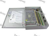 Блок питания в металлическом ящике для камер CCTV, 18-кан 12 В 20 А 240 Вт