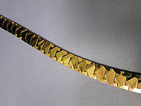 Мужской браслет Цезарь из вольфрама  с германиевыми вставками и магнитами, фото 1