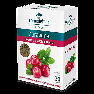 Дієтична добавка Langsteiner Журавлина 30 капсул (2943020)