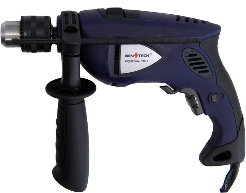 Дрель электрическая ударная Wintech WID-650 PRO